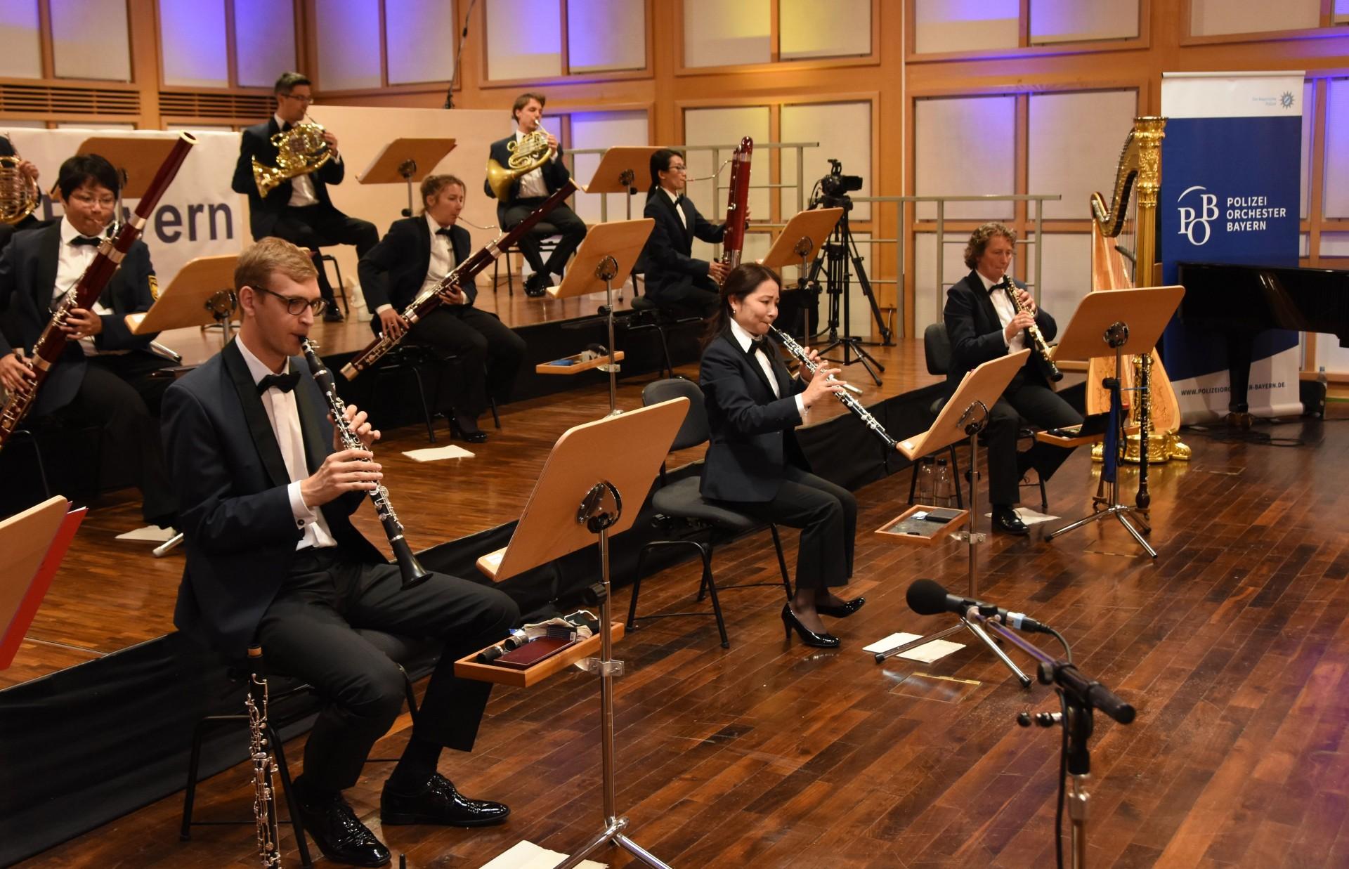 Konzert Polizeiorchester Bayern – nochmals verschoben auf 2021