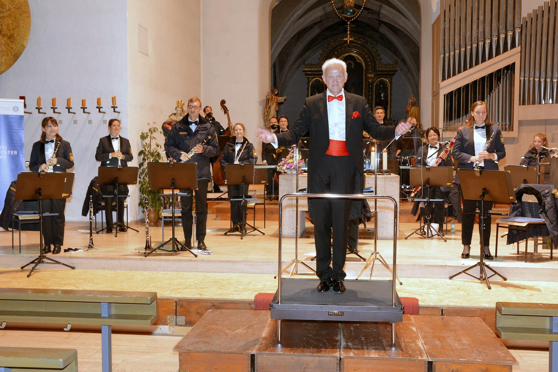 KIrchenkonzert Polizeiorchester Bayer