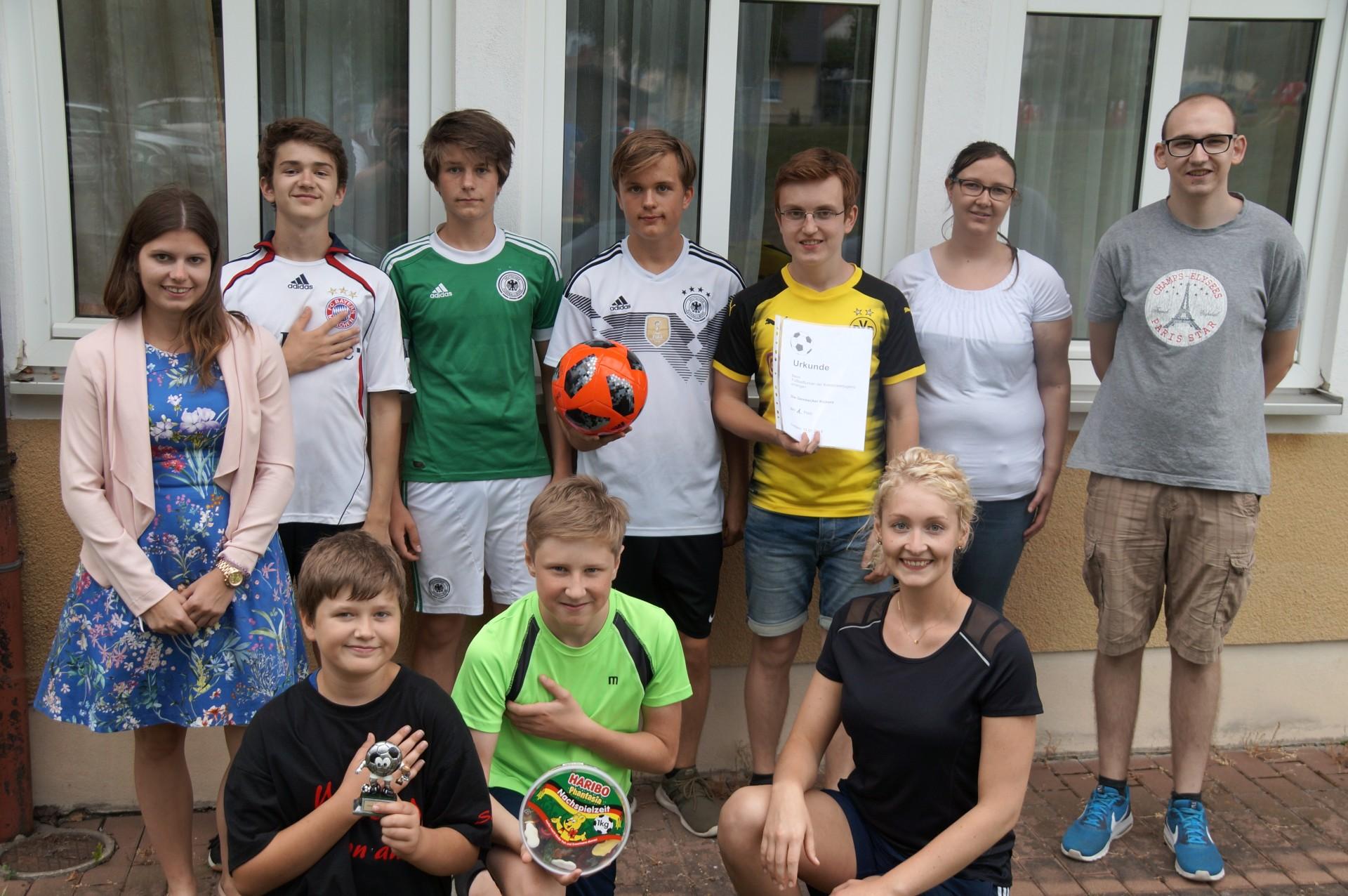 Fußballturnier Bläserjugend (2018)