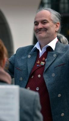 Dirigent Gerhard Böller