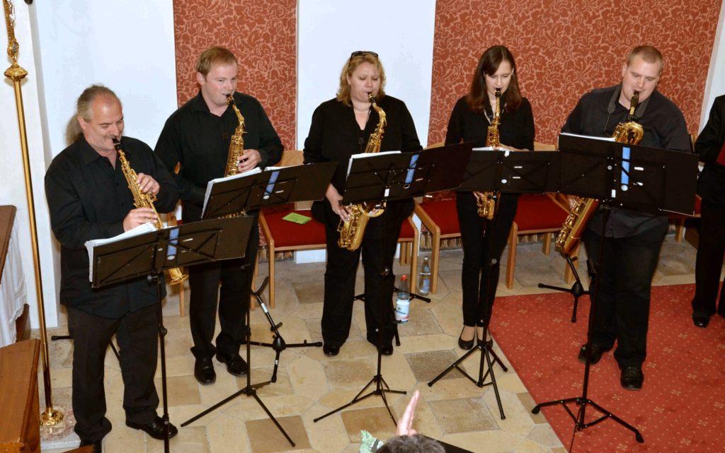 Gebenbacher Saxophoniker